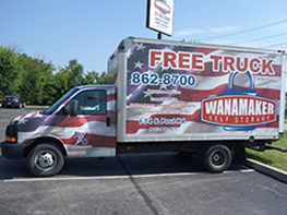Free Moving Truck Rentals Available at American Self Storage Communities