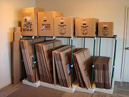 Moving Boxes Available at American Self Storage Communities