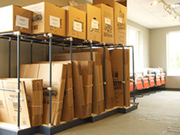 Moving Boxes Available American Self Storage Communities Fairview Facility